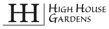 High House Gardens Logo